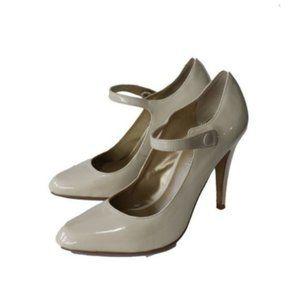 Aldo Nude Mary Jane Stiletto Round Toe Heels